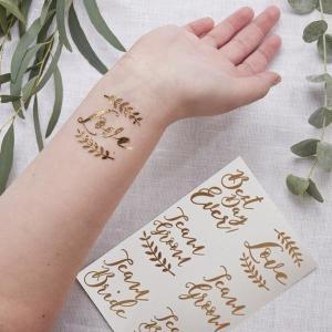 Team Bride Tattoos (16)