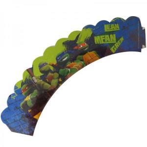 Teenage Mutant Ninja Turtles Cupcake Wraps (6)