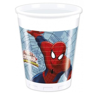 Spiderman Team Up Plastic Cups (8)