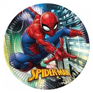 Spiderman Team Up Paper Plates (8)