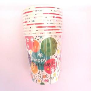 Springtime Balloons Paper Cups (10)