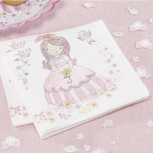 Princess Party Napkins (20)