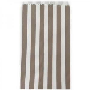 Stone Striped Candy Bags (50) - SML