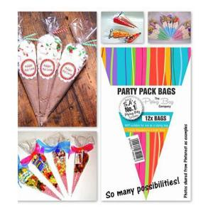 Cone shaped Sweetie Bags (12)