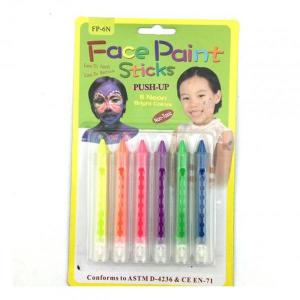 Neon Face Crayons