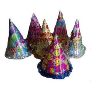 Holographic Paper Cone Hat