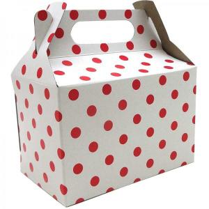 White with Red Dotted Party Box (10)