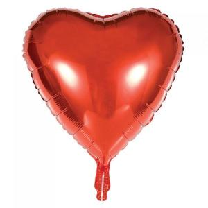 Red Foil Heart Balloon 18 inch