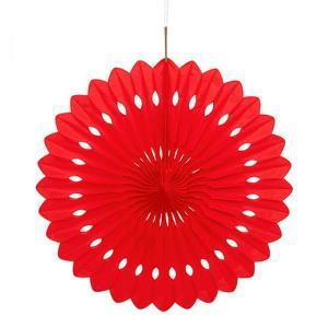 Red Decorative Fan