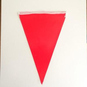 Red Paper Flag Bunting