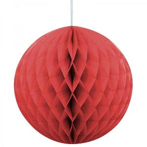 Red Paper Ball (30cm)