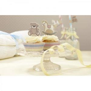 Rock-a-Bye Baby - Cupcake Decoration Set