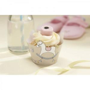 Rock-a-Bye Baby - Cupcake Wraps (10)