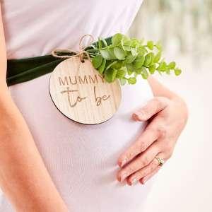 Botanical Baby Mummy To Be Belly Sash