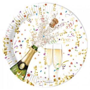 Sparkling Celebration Paper Plates (8)