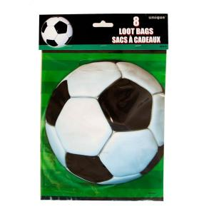 Super Soccer 3D Plastic Party Bags (8)