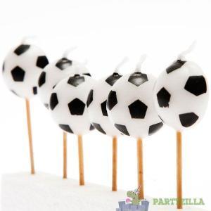 Super Soccer 3D Pick Candles (6)