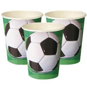 Super Soccer 3D Paper Cups (8)