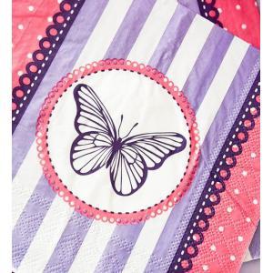 Secret Garden Paper Serviettes (20)