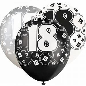 Age 18 Balloons (6)
