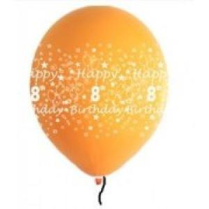 Happy 8th Birthday Balloons Boy Shades (5)