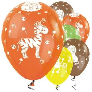 Animal Jungle  balloons assorted (5)