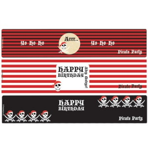 Arrr Pirate Party - Bottle Wrappers (8)