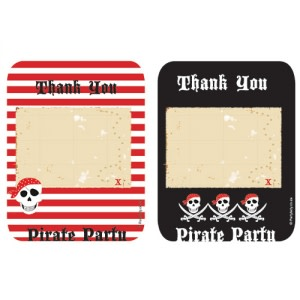 Arrr Pirate Party - Thank You Cards (8)