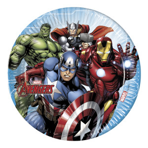 Mighty Avengers Paper Plates (8)