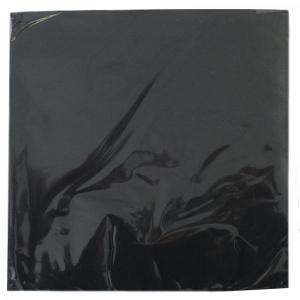 Black Serviettes (20) Small