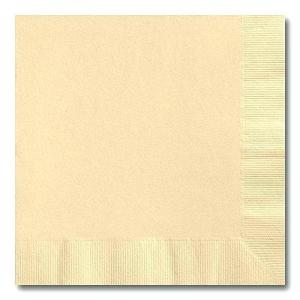 Beige Cocktail Napkins (20)