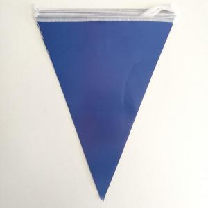 Royal Blue Paper Flag Bunting