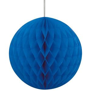 Royal Blue Paper Ball (20cm)