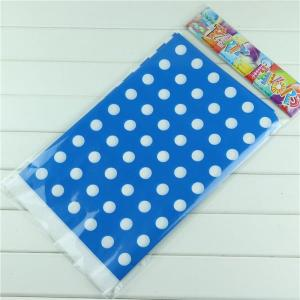 Sky Blue Dotted Table Cover