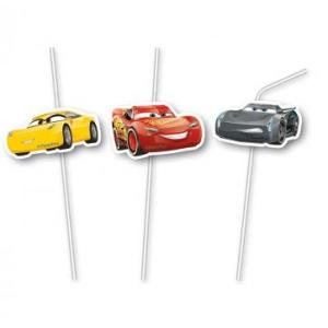 Cars 3 Party Straws (6)