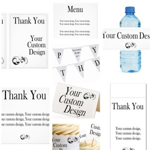 Custom Party Design Printable