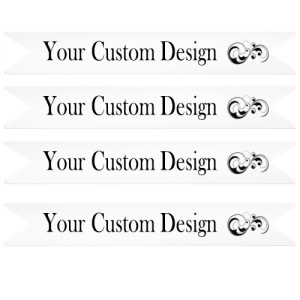 Custom Design Straw Flags