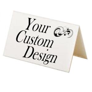 Custom Design Tent Cards