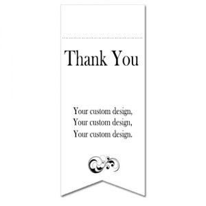 Custom Design Gift Bag Tags