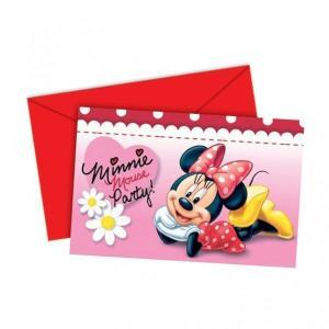 Disney Minnie & Daisies Invitation (6)
