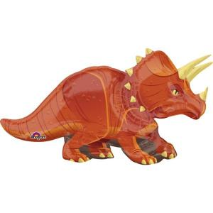 Dinosaur Triceratops Supershape Foil Balloon