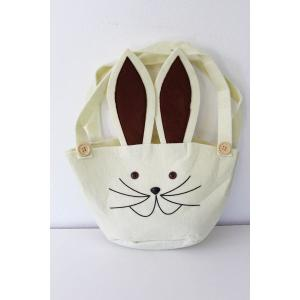 Easter Bunny Bag Natural