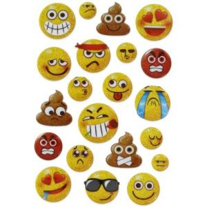Emoji Puffy Stickers