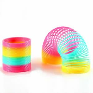 Rainbow Slinky 7,5cm