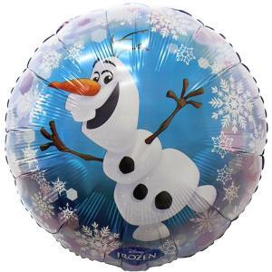 Frozen Olaf Balloon