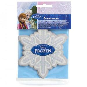 Frozen Ice-Skating Invites & Envelope (6)