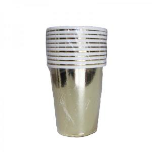 Gold Paper Cups (10)