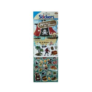 Pirate Sticker and Album Set