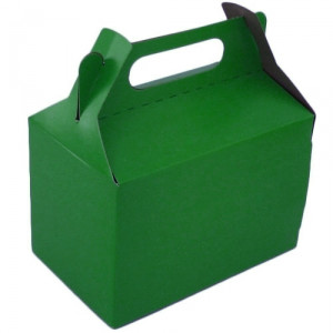 Large Dark Green Party Box (10)