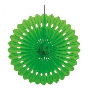 Lime Green Decorative Fan